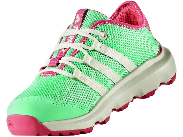 adidas TERREX CC Voyager Shoes Kids easy green/chalk white/tactile pink